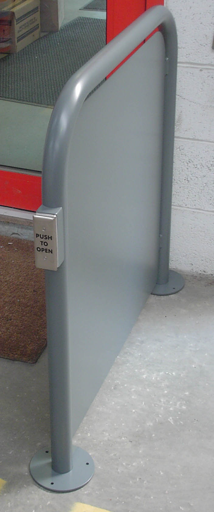 Auto door barriers